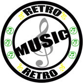 Retro music — Stock Vector
