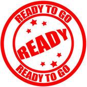 Ready to go — Stock Vector