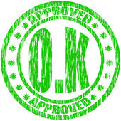Approved — Stock Vector