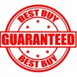 Stock Vector: Best buy guaranteed