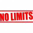 No limits — Stock Vector