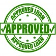 Stock Vector: Approved