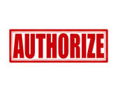 Authorize — Stock Vector