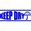 Keep dry — Stock Vector