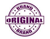 Original brand — Stock Vector
