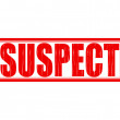 Stock Vector: Suspect