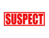 Suspect — Stock Vector