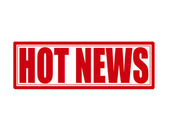 Hot news — Stock Vector