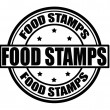 Stock Vector: Food stamps