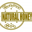 Natural honey — Stock Vector