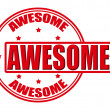 Stock Vector: Awesome