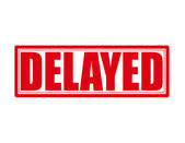 Delayed — Stock Vector