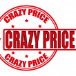 Crazy price — Stock Vector