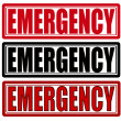 Emergency — Stock Vector