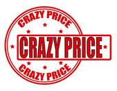 Crazy price — Stock Vector