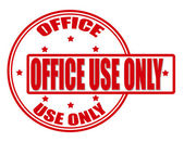 Office use only — Stock Vector