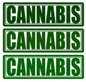 Cannabis — Stock Vector