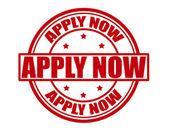 Apply now — Vector de stock