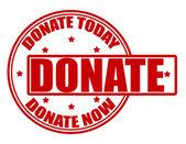 Donate — Stock Vector