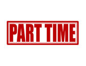 Part time — Stock Vector