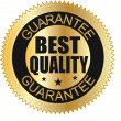 Stock Vector: Best quality guaranteed label