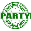 Christmas party — Stock Vector