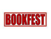 Book fest — ストックベクタ