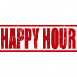 Happy hour — Vector de stock #38756487