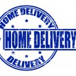 Stock Vector: Home delivery
