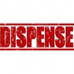 Dispense — Stock Vector