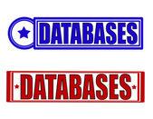 Databases — Stock Vector