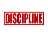 Discipline — Stock Vector
