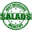 Stockvektor : Salads