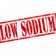 Stockvektor : Low sodium