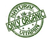Tylko organiczne — Wektor stockowy