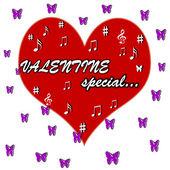 Alla hjärtans special — Stockvektor