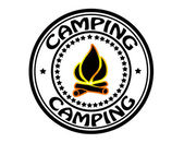 Camping — Stock Vector