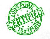 Certified — Stock vektor