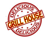 Grill house — Stock Vector