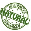 Stock Vector: Natural resources