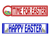 Time for Easter — Stock Vector