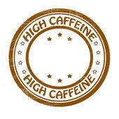 Wysokiej zawartości kofeiny — Wektor stockowy