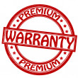 Stock Vector: Warranty