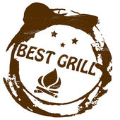 Best grill — Stockvektor
