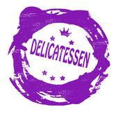 Delicatessen — Stock Vector