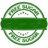 Free sugar — Stock Vector