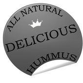 Heerlijke hummus — Stockvector