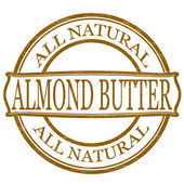 Almond butter — Stock Vector