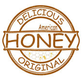 Delicious honey — Stock Vector