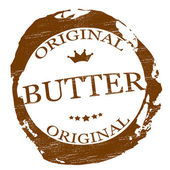 Original butter — Stockvector
